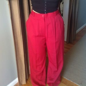 Classic red trouser